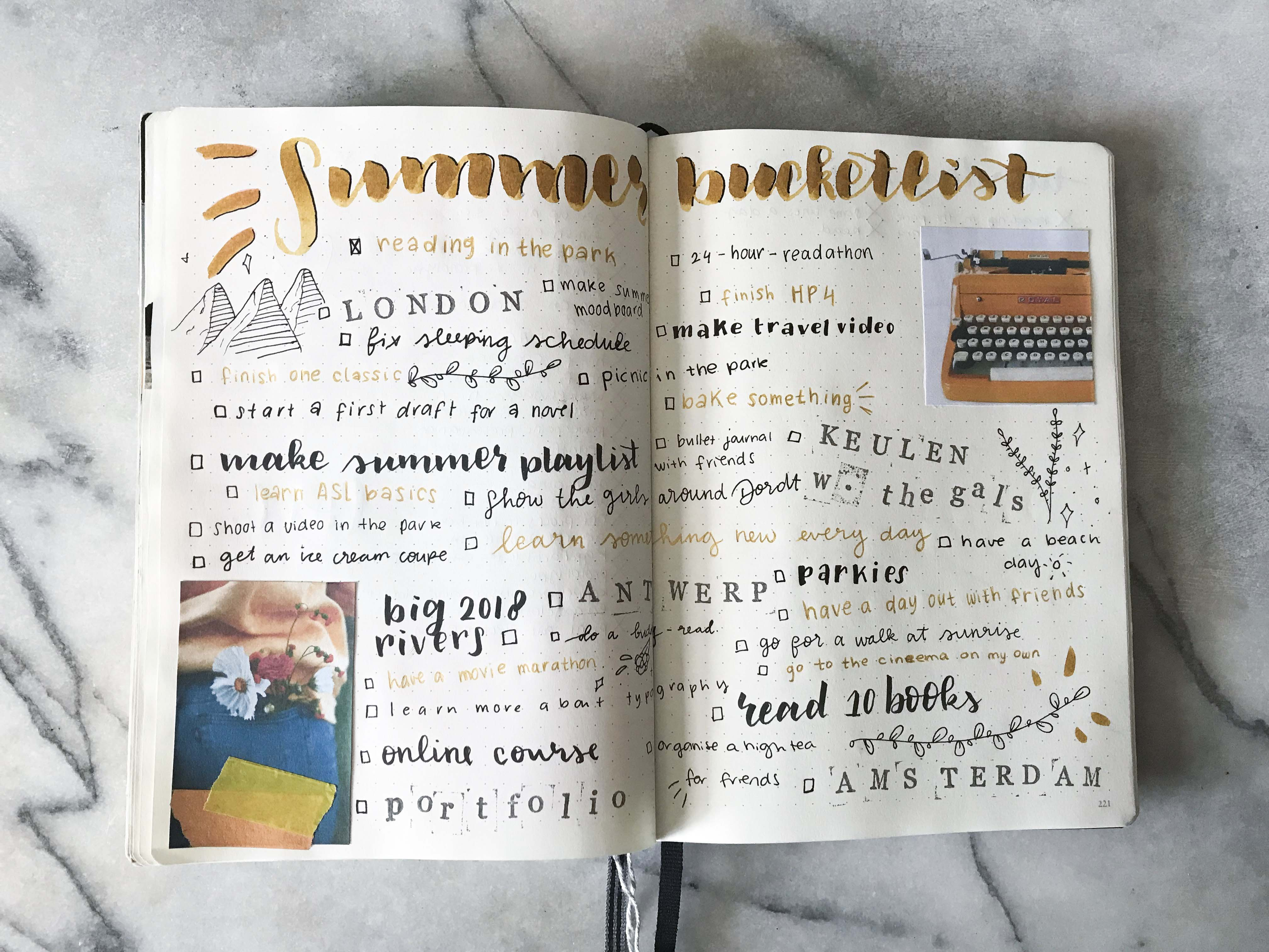 Why You Should Make A Summer Bucket List Lotte Marleen